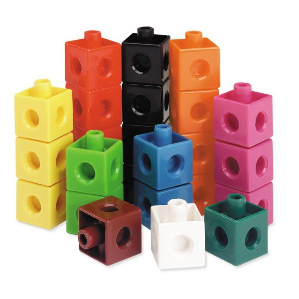 Cuburi colorate asamblabile 100 buc. 6
