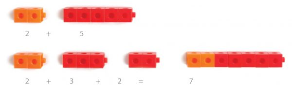 Cuburi colorate asamblabile 100 buc. 8