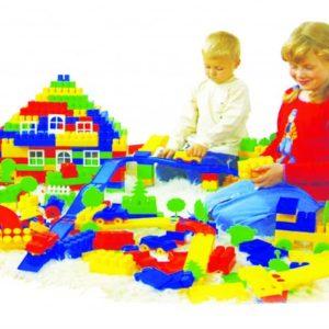 Jucarii din plastic pentru constructii