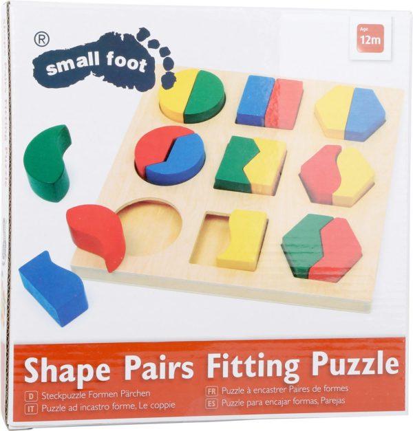 Puzzle, cutie identificarea formelor 2