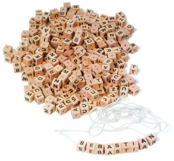 Alfabet, set de litere din lemn 1