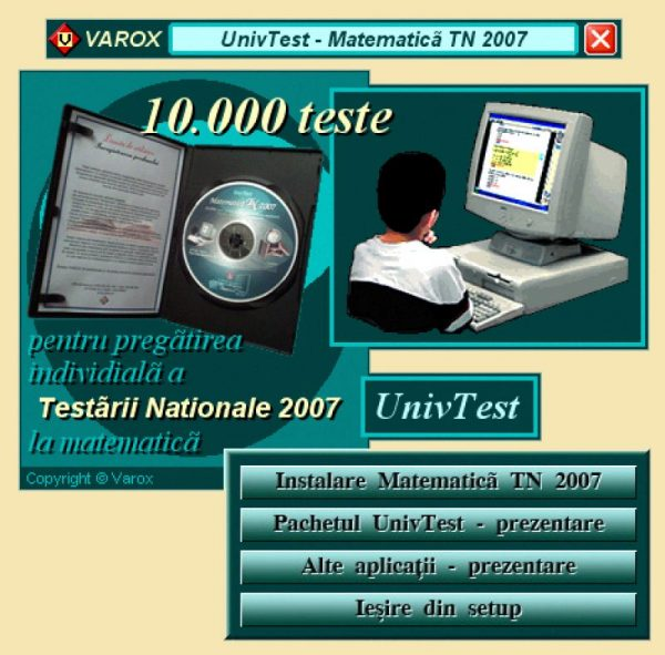 Ghid pregatire-evaluare Matematica TN 2007 - 10000 teste 2