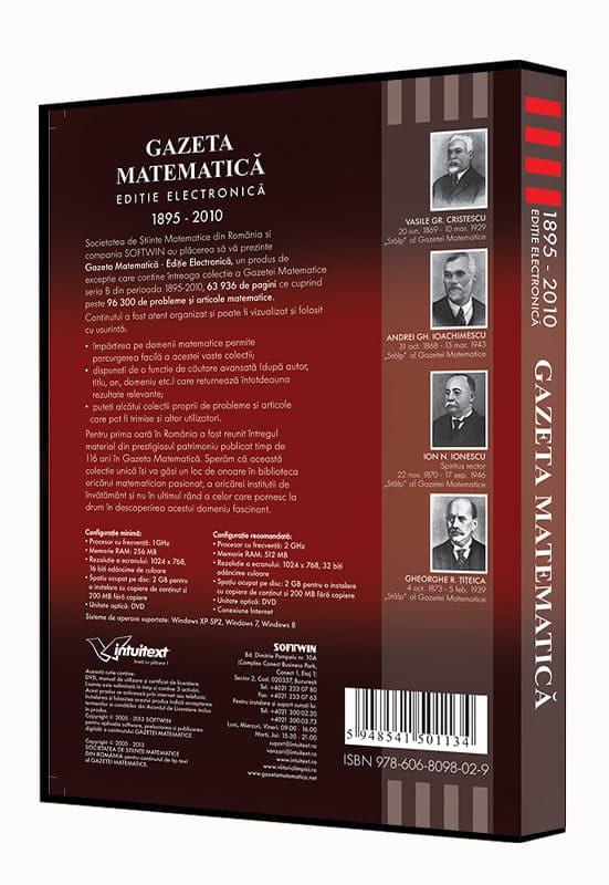 Gazeta Matematica - Editie Electronica 2
