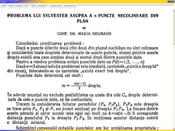 Revista Matematica Timisoara 2