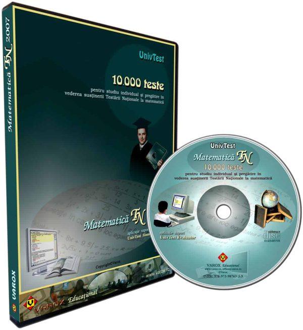Ghid pregatire-evaluare Matematica TN 2007 - 10000 teste 1