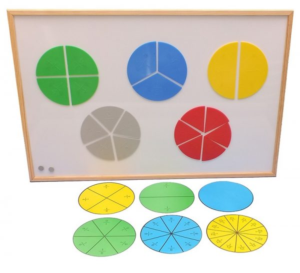 Trusa fractii pentru profesor cu tabla magnetica 1