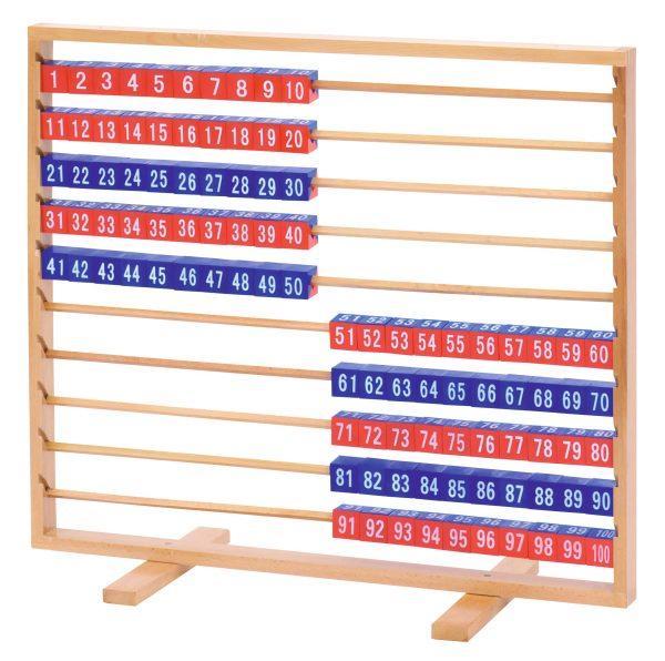 Abac demonstrativ cu cuburi demontabile, pana la 100 1