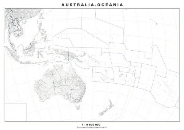 Harta de lucru - Australia - Noua Zeelanda - fara sipci 1