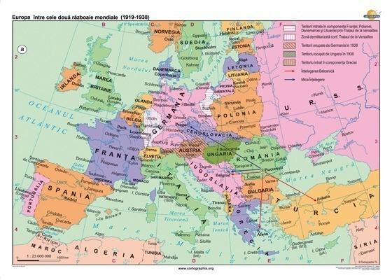 Europa intre cele doua razboaie mondiale (1919-1938) 1