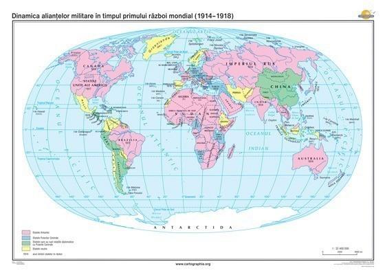 Dinamica aliantelor militare in timpul primului razboi mondial (1914-918) 1