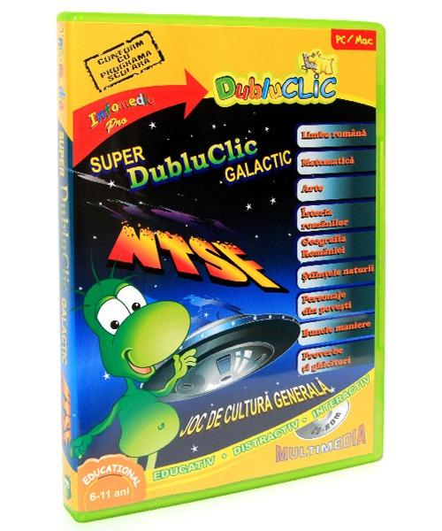SUPER DubluClic GALACTIC cucereste UNIVERSUL CUNOASTERII - NTSF 10