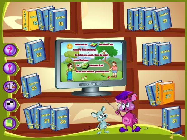 Abecedar Interactiv - Lectii multimedia pentru clasa I - partea 2 10