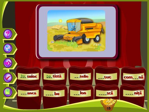 Abecedar Interactiv - Lectii multimedia pentru clasa I - partea 2 7