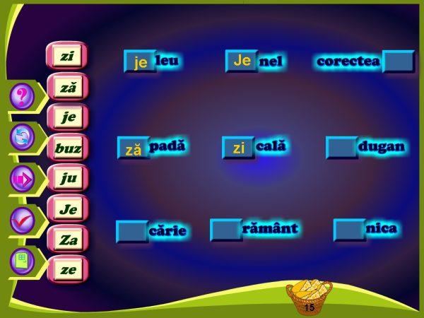 Abecedar Interactiv - Lectii multimedia pentru clasa I - partea 2 6
