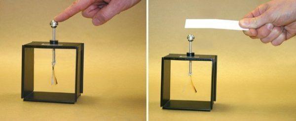 Electroscop cu lamele 2