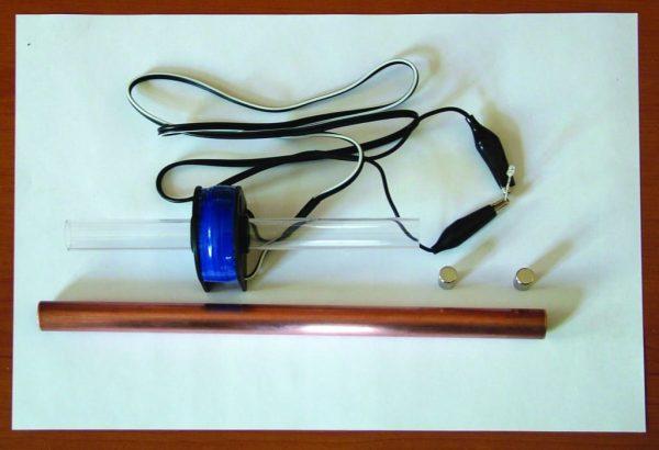 Set pentru demonstrarea inductiei magnetice 6