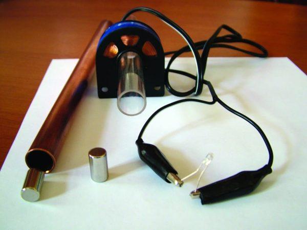 Set pentru demonstrarea inductiei magnetice 5