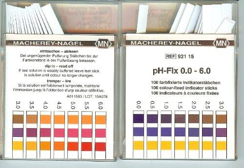 Benzi test pentru determinarea pH-ului 4
