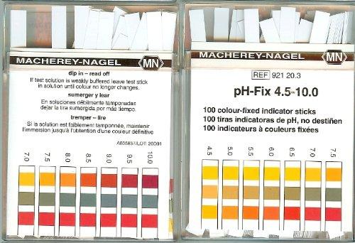 Benzi test pentru determinarea pH-ului 3