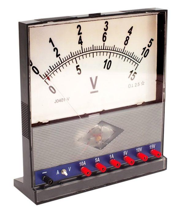 Volt - Ampermetru demonstrativ 2