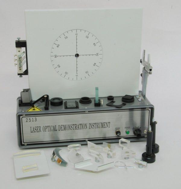 Trusa demonstrativa pentru optica cu sursa laser He-Ne 1