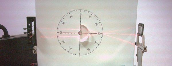 Trusa demonstrativa pentru optica cu sursa laser He-Ne 2
