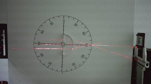 Trusa demonstrativa pentru optica cu sursa laser He-Ne 3