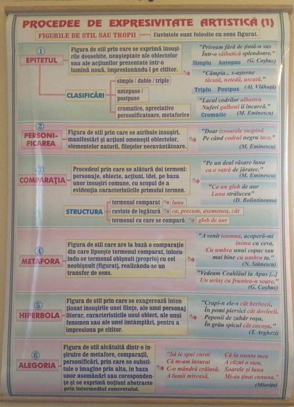 Acordul subiectului cu predicatul (1) / Procedee de expresivitate artistica (1) 2