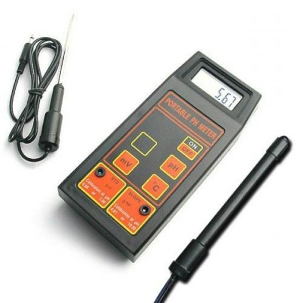 pH-metru de masura portabil pentru pH/mV/Temperatura 1