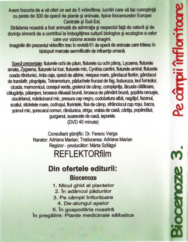 BIOCENOZE 3. Pe campii infloritoare 2