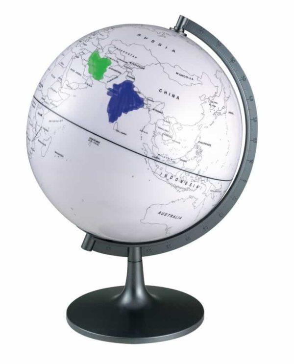 Glob cu harta in contur 1