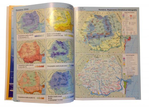 Atlas geografic scolar clasele 5-8 6