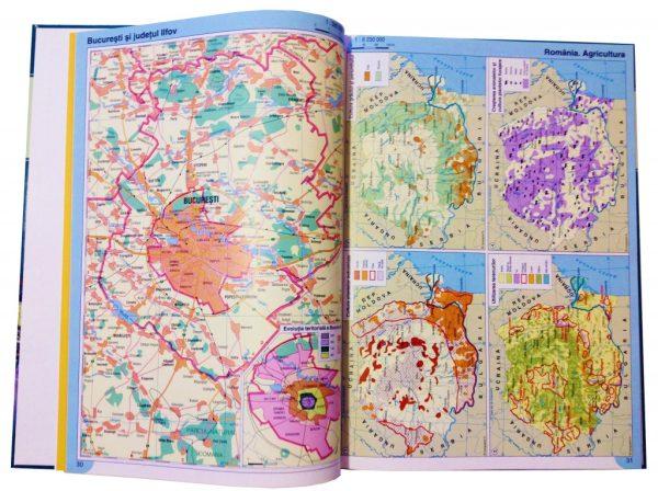 Atlas geografic scolar clasele 9-12 6