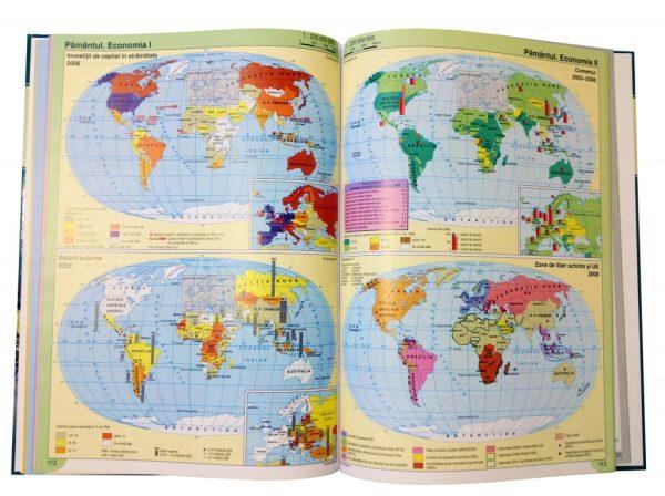Atlas geografic scolar clasele 9-12 4