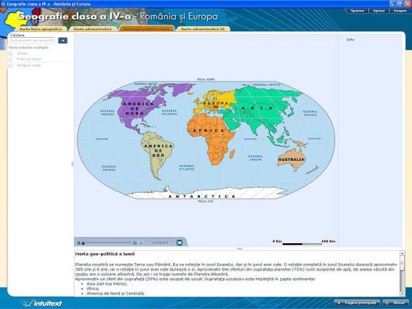 Geografie clasa a IV-a - Romania si Europa 2