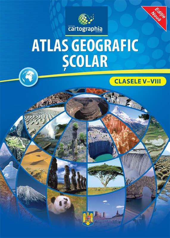 Atlas geografic scolar clasele 5-8 1
