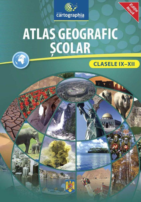 Atlas geografic scolar clasele 9-12 1