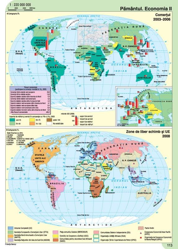 Atlas geografic scolar clasele 9-12 2