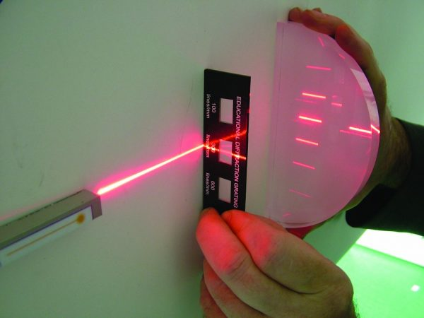 Banc optic cu laser 4