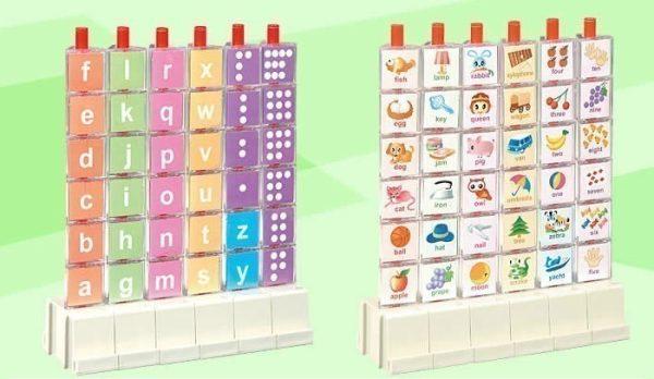 Puzzle 3D litere si cifre 2