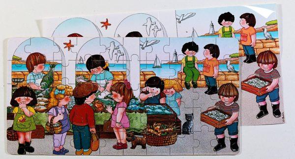Piata de peste - puzzle 1