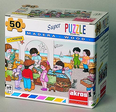 Piata de peste - puzzle 2