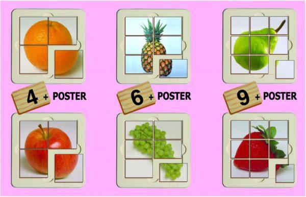 Fructe - puzzle 2