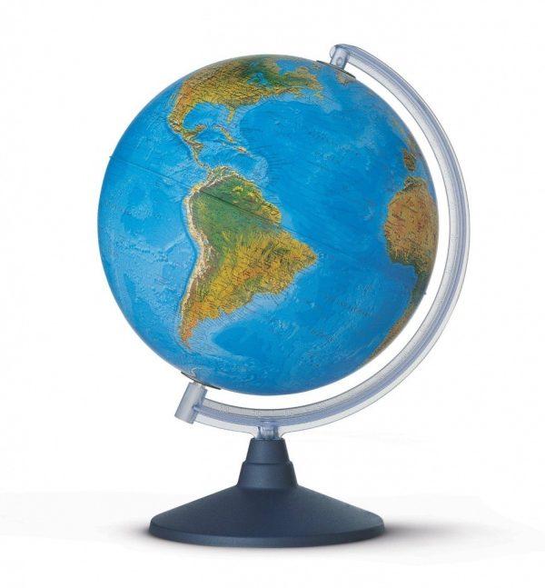 Glob geografic pamantesc iluminat HU 1