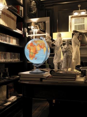 Glob geografic pamantesc iluminat HU 3