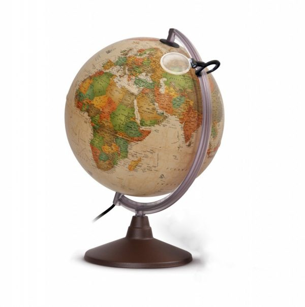 Glob geografic pamantesc iluminat Marco Polo 1