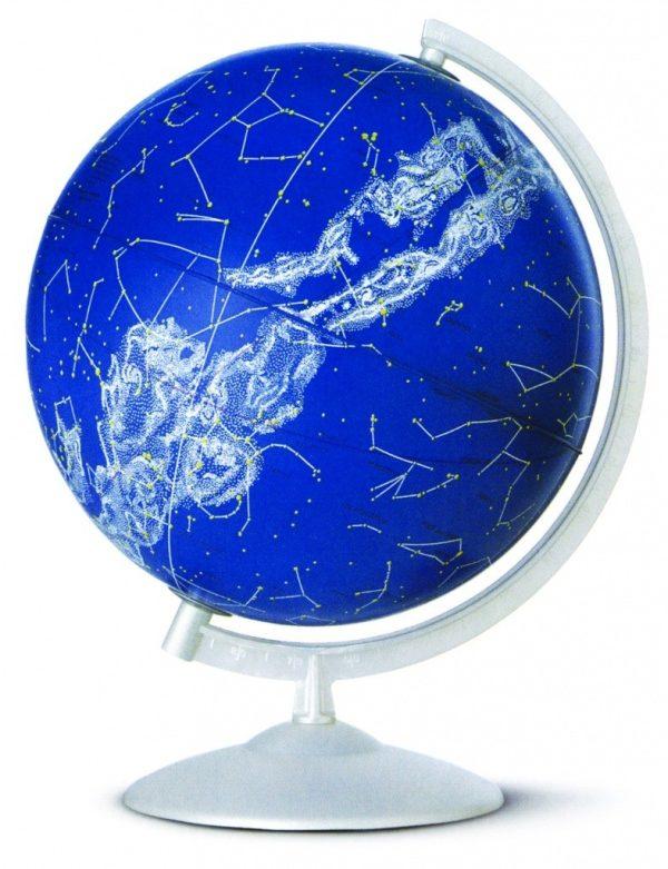 Glob geografic pamantesc iluminat Stelare Perla 1