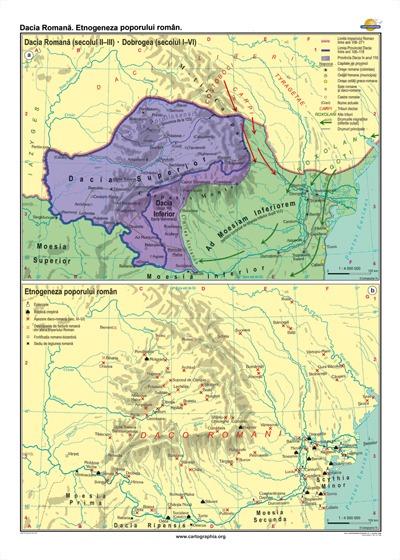 Dacia Romana. Etno-geneza poporului roman 1