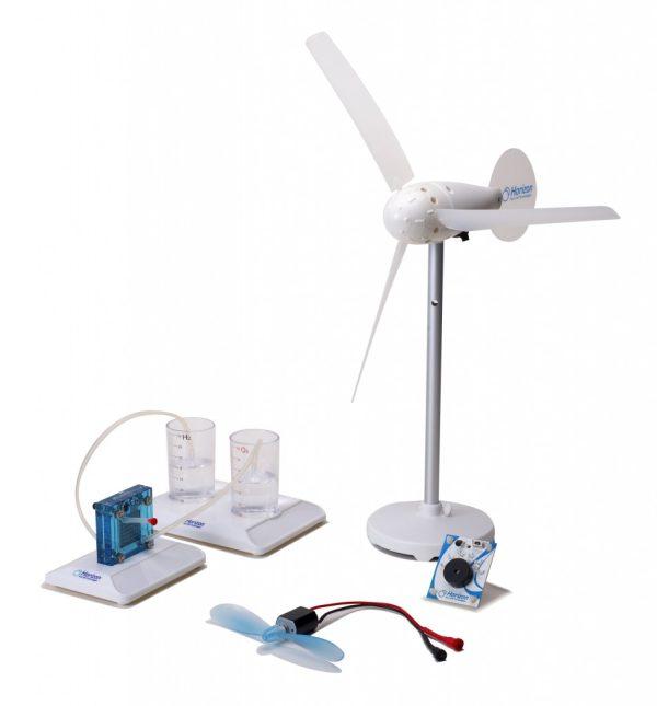 Set experimental transformarea energiei eoliene in hidrogen 1