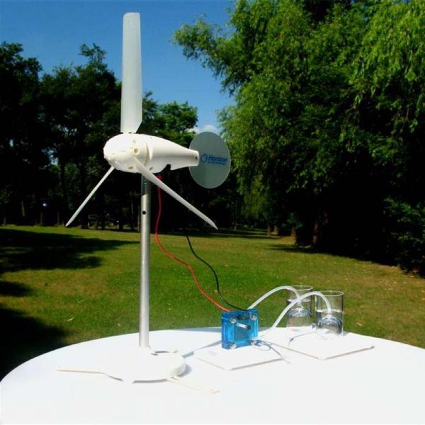 Set experimental transformarea energiei eoliene in hidrogen 2